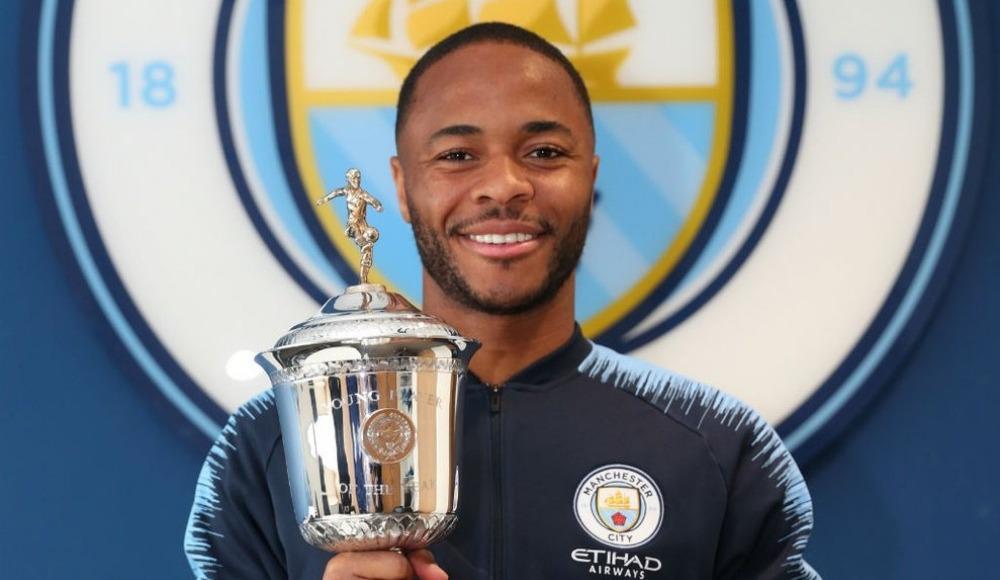 """Premier Lig'te """"En İyi Genç Oyuncu"""" Raheem Sterling!"""