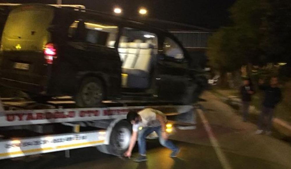 Alanyasporlu futbolcuları taşıyan araç kaza yaptı: Sural hayatını kaybetti!