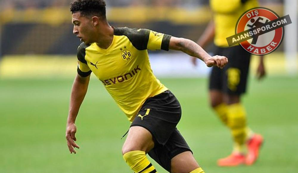 Borussia Dortmund'dan flaş Jadon Sancho açıklaması