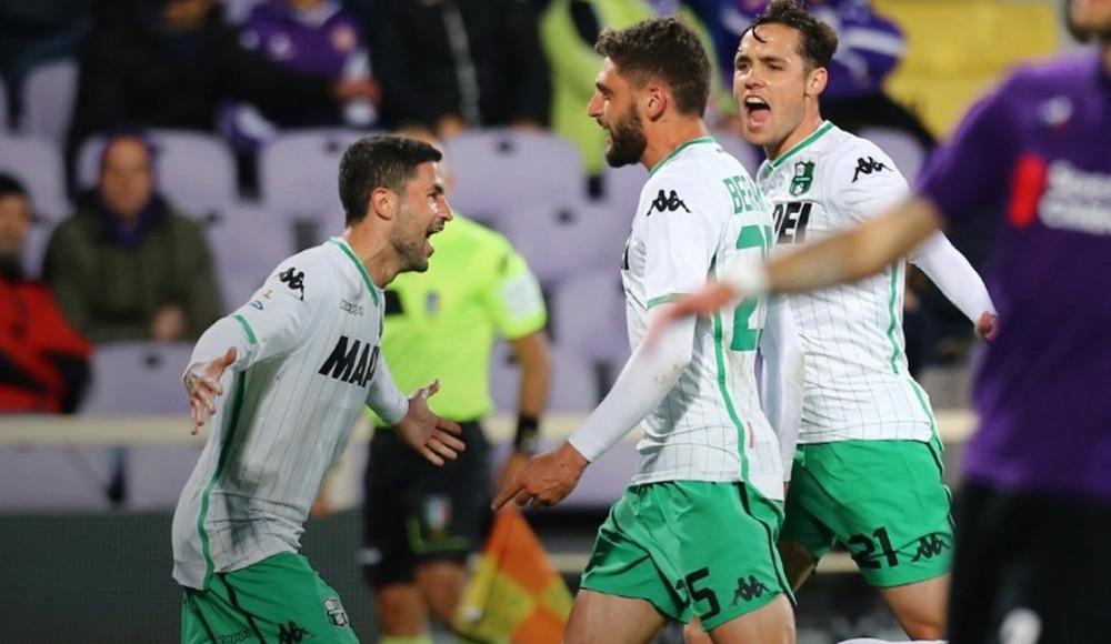 Sassuolo, deplasmanda Fiorentina'yı tek golle mağlup etti!