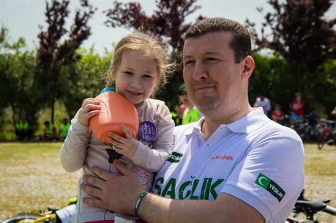 Yeşilay İzmir'den 'sağlık' için bisiklet turu