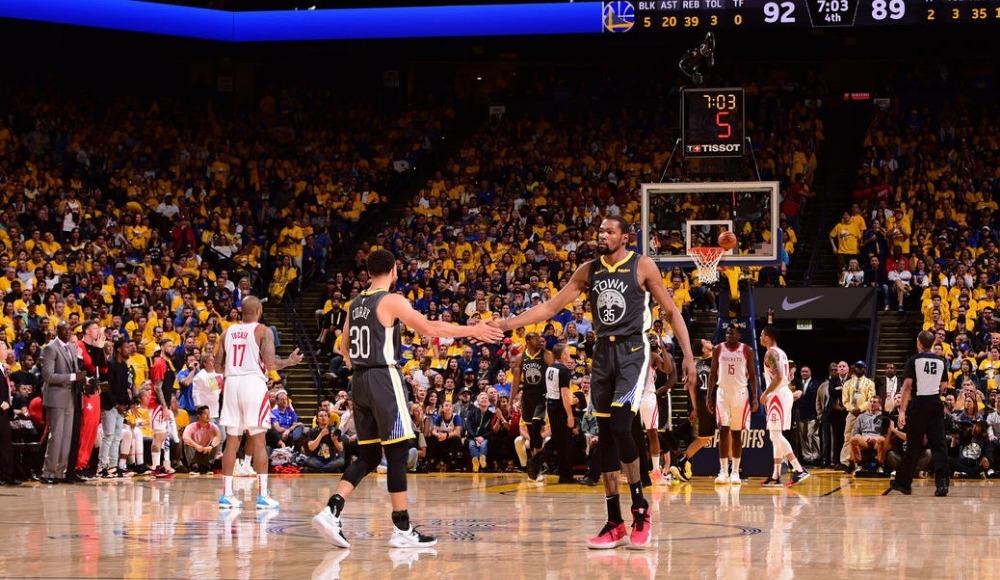Warriors seride avantaj yakaladı