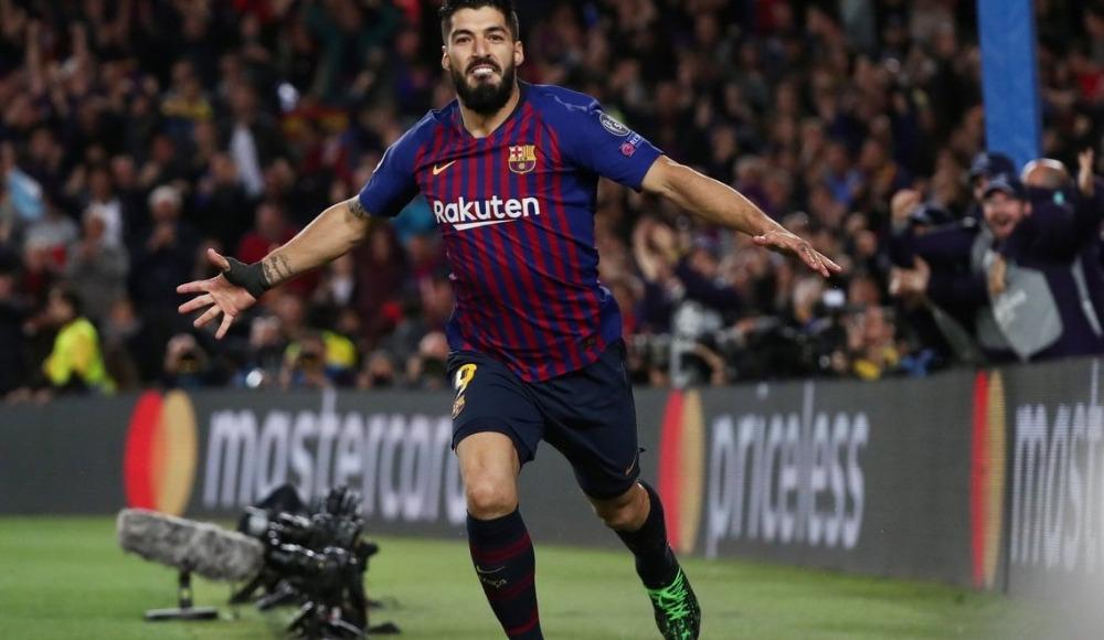Barcelona'nın 500. golü Luis Suarez'den