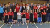 Milli badmintonculardan 16 madalya