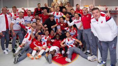 Sırbistan'da şampiyon Kızılyıldız