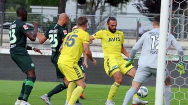 Fenerbahçe, Wolfsburg'la 1-1 berabere kaldı
