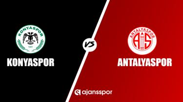Konyaspor - Antalyaspor (Canlı Skor)