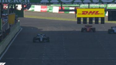 Japonya Grand Prix'ini Bottas kazandı