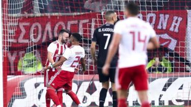 Mathieu Valbuena'nın golü Olympiakos'a yetmedi! 1-1