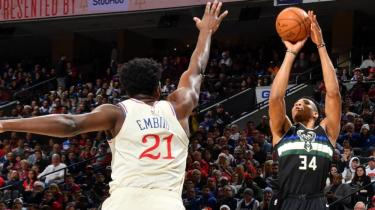 Philadelphia 76ers, Milwaukee Bucks'a ağır geldi!