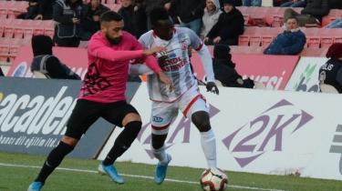 Balıkesirspor - Osmanlıspor maçında kazanan çıkmadı! 1-1
