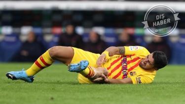 Barcelona'da Luis Suarez sezonu kapattı!