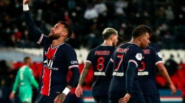 PSG, kendi evinde Angers'i gol yağmuruna tuttu