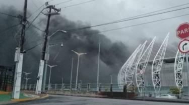 Brezilya'da Dünya Kupası ev sahipliği yapan stadyumda büyük yangın