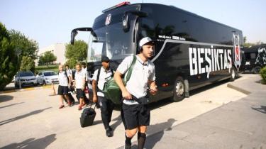 Beşiktaş kafilesi, Porto'ya gitti