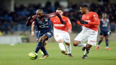 Monaco, Montpellier engeline takıldı