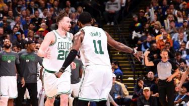 Boston Celtics'ten Warriors'a 33 fark!